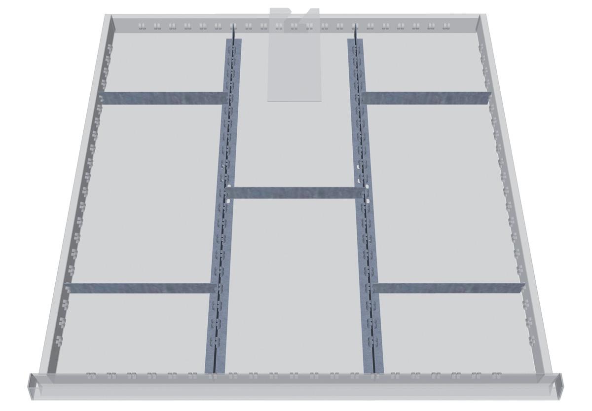 Schubladenschrank 700/1131AK | Metalsteel GmbH